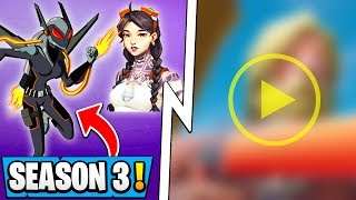 *NEW* Fortnite Season 3: Trailer Leak, DC Collab Skins, Competitive!