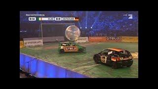 2. Halbfinale: Irland - Deutschland - TV total Autoball