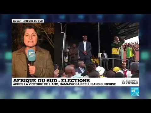 Le président Ramaphosa réélu en Afrique du Sud, promet de