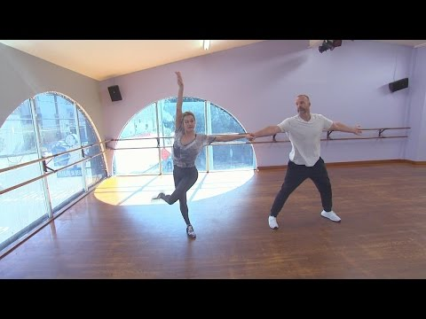 Behind the Scenes of David Ross' 'Dancing With the Stars' Rehearsals