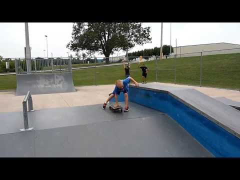 Lil buddy skating