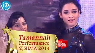 Tamannah Graceful Dance Performance || SIIMA 2014 Awards