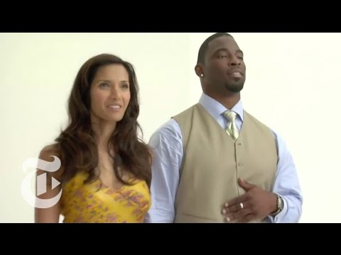 Conversations: Padma Lakshmi & Justin Tuck Outtakes | The New York Times