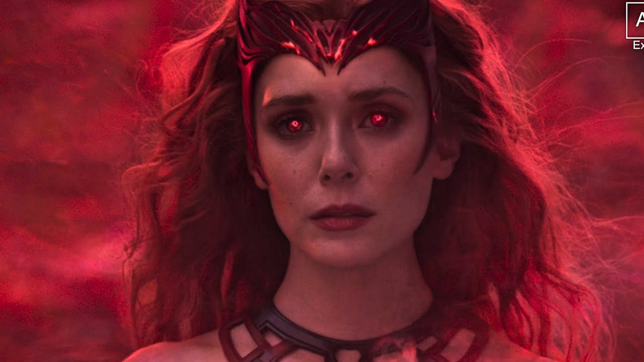 Scarlet Witch- All Powers from WandaVision - YouTube