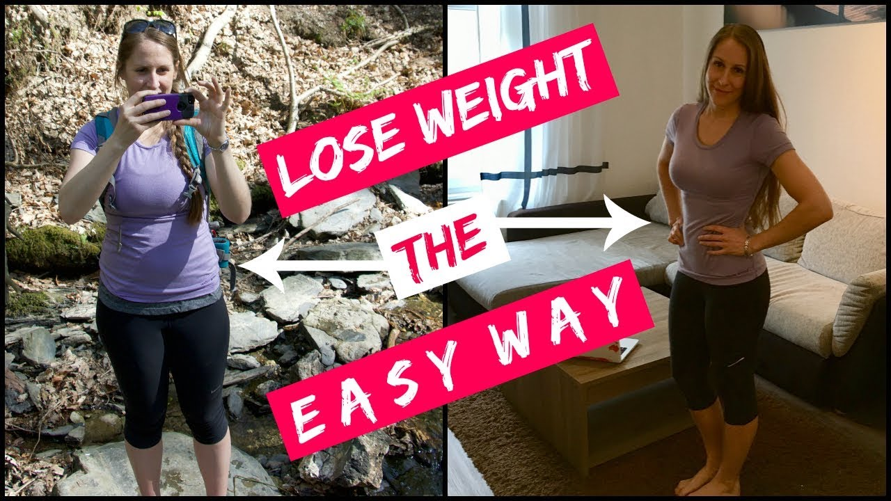 how to lose weight no exercise
