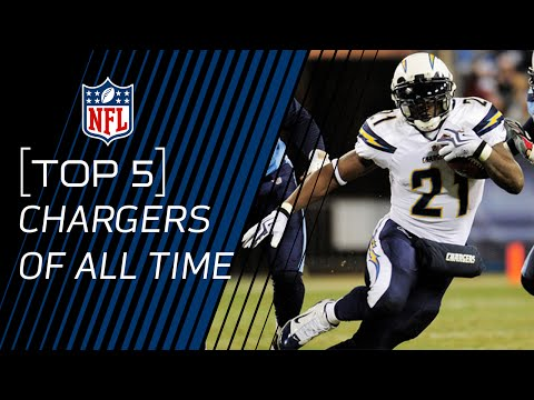 Top 5 Chargers of All Time | NFL