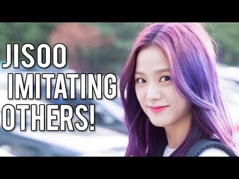 BLACKPINK JISOO IMITATING OTHERS!