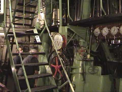 S/s Sankt Erik Aft Engine Room
