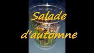 recette : salade d'automne