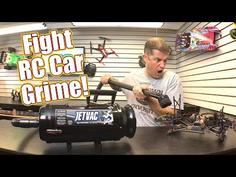 Keep It Clean! Maintaining Your Vehicle Can Be Easy - Cow RC JetVac  | RC Driver