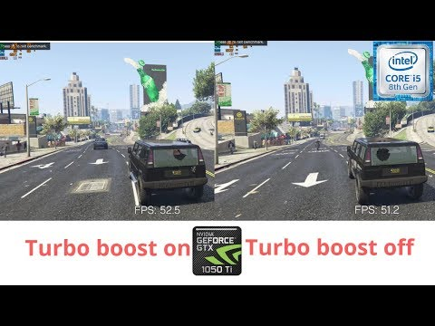 I5 8300H | Turbo Boost ON vs OFF | 4 Games tested