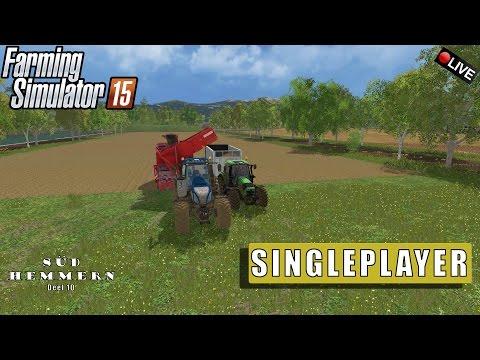 "{NL} ""SINGLEPLAYER"" FarmingSimulator 15 Süd Hemmern Deel 10 {G27}"