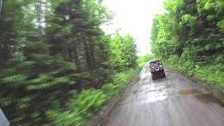 Lakeland ATV Club Ride in Hurley, WI