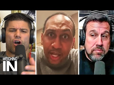 Stephen A. Smith responds to Joe Rogan | WEIGHING IN