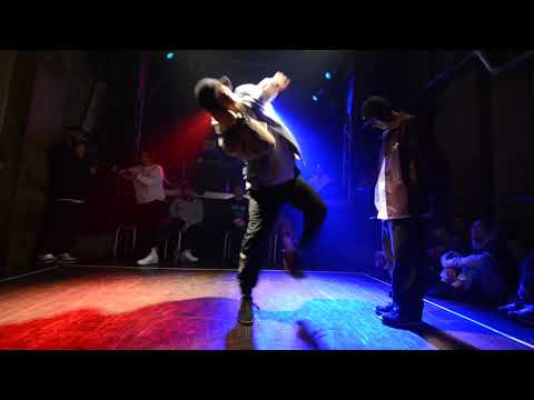 TAA[DONUTS] vs kenta[roouze dat party]|Quarterfinal '18.12/14『THE CROWN』GRAND CHAMPIONSHIP MALE