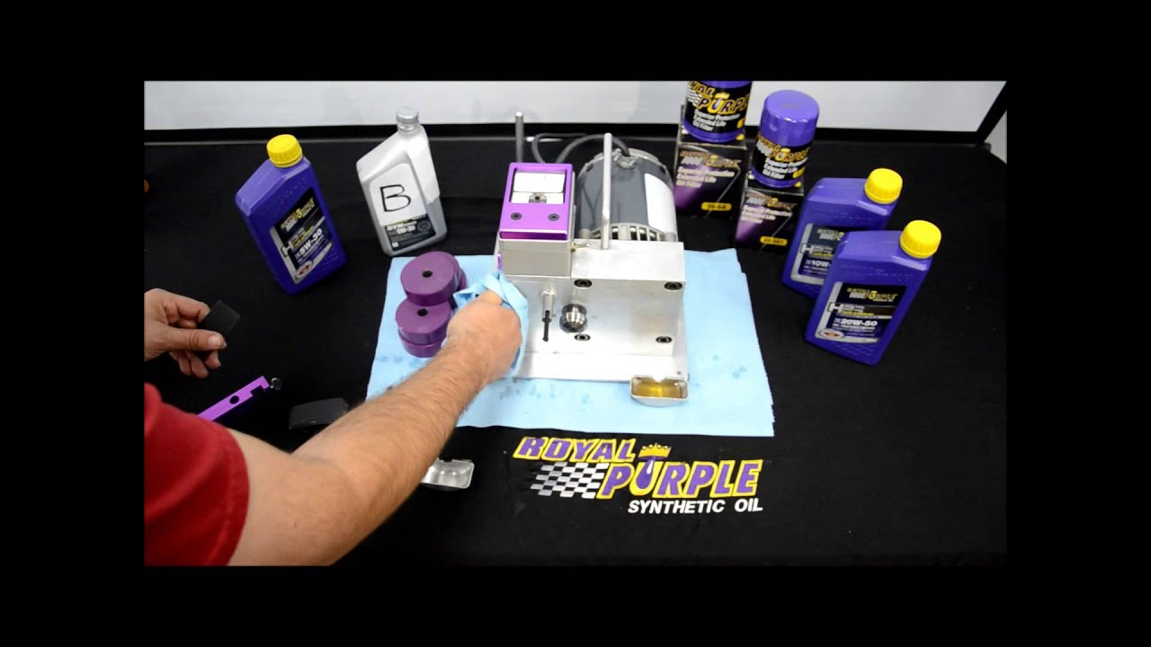 aceite sintetico royal purple hps 5w30 motor oil prueba. Black Bedroom Furniture Sets. Home Design Ideas