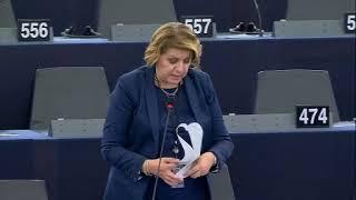 Intervento in aula di Caterina Chinnici sulla violazione dei diritti dei popoli indigeni nel mondo
