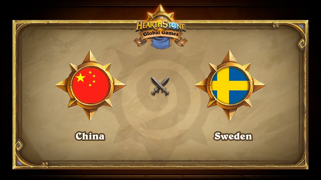China vs Sweden, Hearthstone Global Games Group Stage
