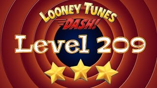 looney Tunes Dash Level 209 Episode 14 / Луни Тюнз игра уровень 209