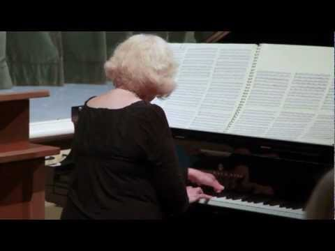 Ann Southam's Fast River #2: Christina Petrowska Quilico Live Piano Performance