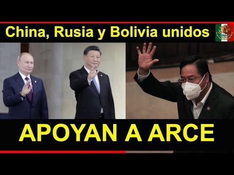 RUSIA Y CHINA DEFIENDEN A BOLIVIA; Lo que echó a perder Áñez, Arce lo restaura