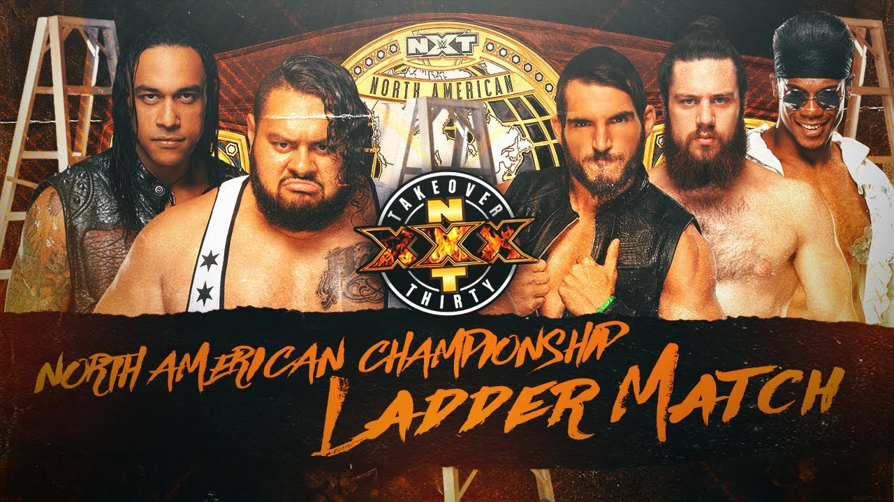 NXT TakeOver: XXX - 5-Men Ladder Match (NXT North American Championship) - YouTube