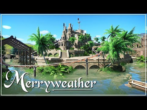 Planet Coaster: Land Of Merryweather - Pirates Area
