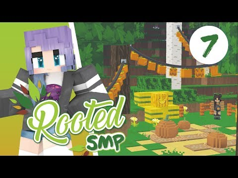 PUMPKIN CARVING - MINECRAFT - ROOTED SMP #7