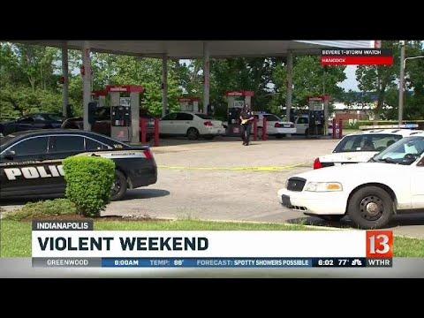 Violent weekend in Indianapolis