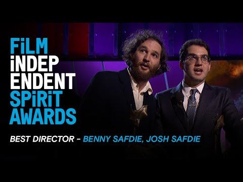 BENNY and JOSH SAFDIE wins Best Director for UNCUT GEMS at the 35th Film Independent Spirit Awards