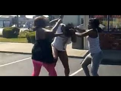 Black girl hood fights