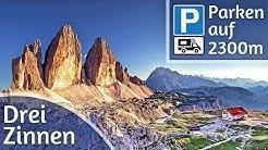 Die Drei Zinnen in den Dolomiten - Rundwanderung & Womo Stellplatz auf 2300m