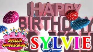 Joyeux Anniversaire Ma Sylvie Youtube