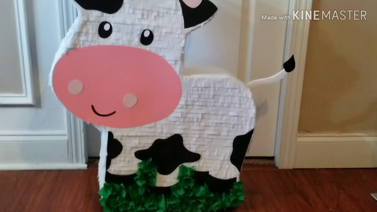 Piñata La Vaca Lola Youtube