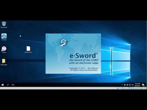 How To Download Bibles In E-Sword