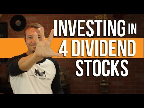 4 dividend paying stocks and how to invest in them