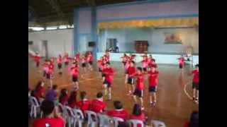 PSHS SMC Juniors cheerdance - Intrams 2013 (Red Foxes)