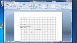 Online Video Tutorial - ECDL Module 3 Tutorial 4 Microsoft Word