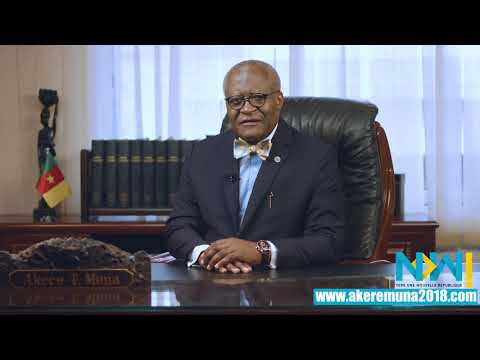 Akere Muna - Ensemble vers une Nouvelle République