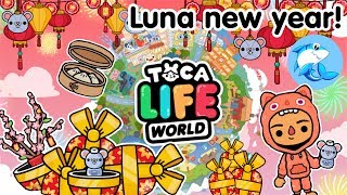 Toca Life world | Luna new year update!?
