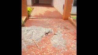 JARDIM ALEGRE  Moradores postam vídeo no youtube com reclamação