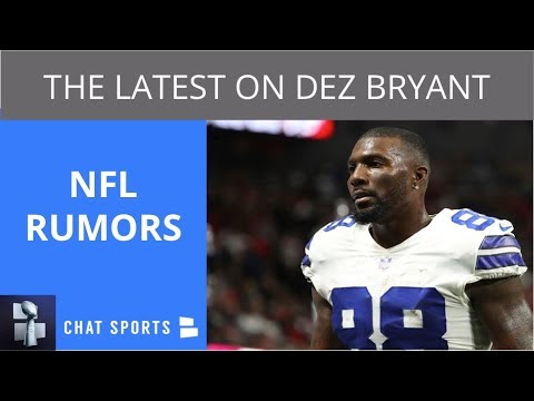 Nfl Rumors Dez Bryant Latest Aaron Rodgers Week 2 Status Le Veon Bell Return Injury Updates