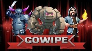 Attacco Con La Strategia GOWIPE! -Clash Of Clans