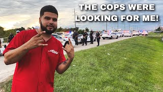 THE COPS RAIDED MY TRUCK GIVEAWAY EVENT!
