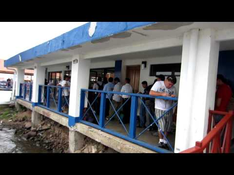San Carlos Port, Nicaragua - Immigration Line