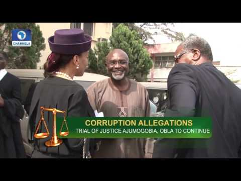 Law Weekly: FG Re-Arraigns Justice Ademola & Two Others