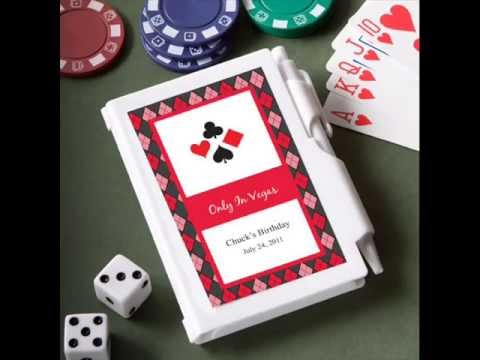 Las Vegas Wedding Favor Ideas: Casino Themed Favors