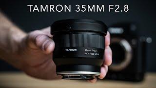 Tamron 35mm F2.8 Review / $349 Sony Full Frame Prime Lens