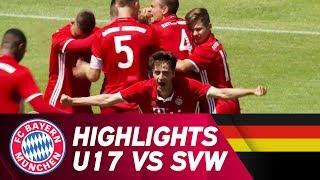 FC Bayern - SV Werder Bremen 2:0 | Highlights | U17 Finale