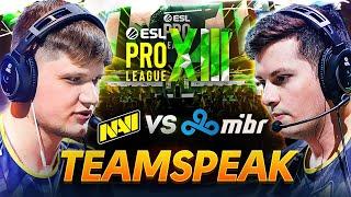 Тимспик NAVI CS:GO против MIBR и Cloud9 на ESL Pro League Season 13